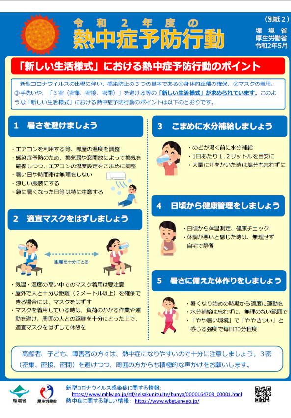 熱中 症 対策