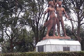 栃木県総合運動公園と栃木県子ども総合科学館周辺を歩くコース