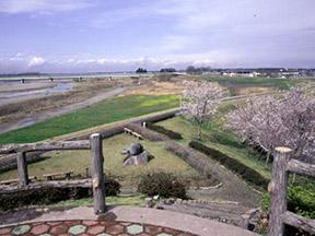 鬼怒川堤防ウォーキングコース