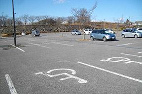 みかも山公園西口駐車場