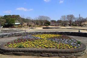 那須野が原公園正面駐車場及び入口付近