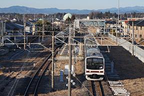 鶴田跨線橋