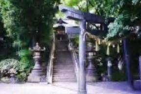 星宮神社・銅造鳥居