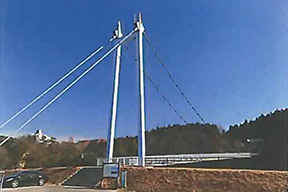 ウォーキングトレイル(大金吊り橋)