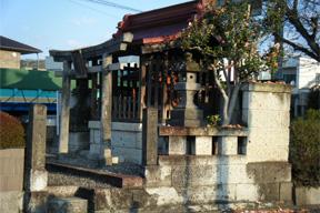二荒山神社(鳥居跡)